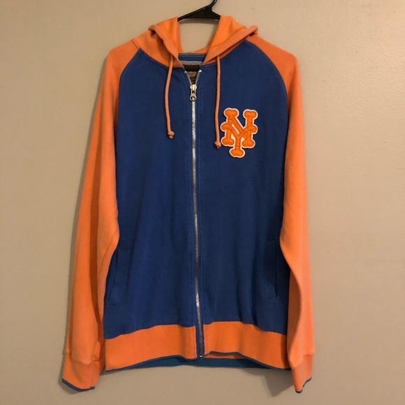 reputable site 80948 9388f NY Mets Zip-Up Hoodie